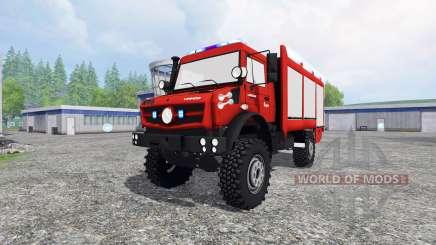 Mercedes-Benz Unimog U5023 [pack] для Farming Simulator 2015