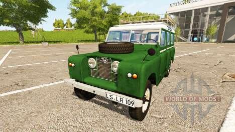 Land Rover Series IIa Station Wagon 1965 для Farming Simulator 2017