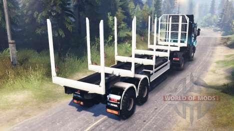 Scania R730 2x2 для Spin Tires