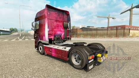 Скин Weltall на тягач DAF для Euro Truck Simulator 2
