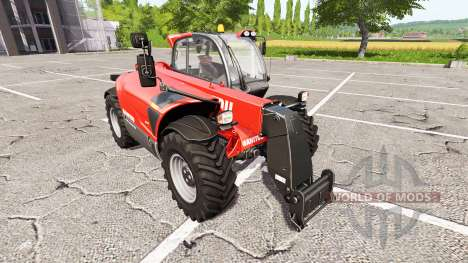Manitou MLT 840 для Farming Simulator 2017