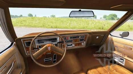 Oldsmobile Delta 88 Royale Brougham (3B-Y69) для BeamNG Drive