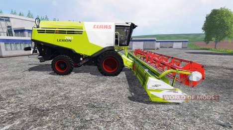 CLAAS Lexion 780 для Farming Simulator 2015