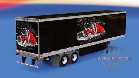 Скин Stay Loaded на рефрижераторный полуприцеп для American Truck Simulator