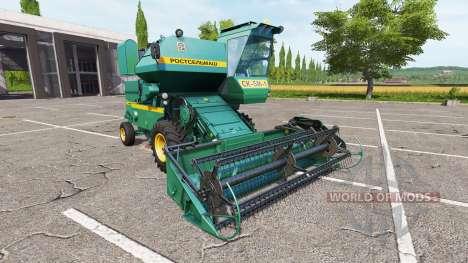 Ростсельмаш СК-5М-1 Нива для Farming Simulator 2017