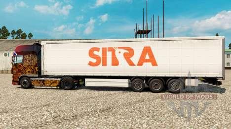 Скин Sitra на полуприцепы для Euro Truck Simulator 2