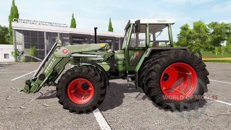 Fendt Farmer 312 LSA Turbomatik v1.0.1 для Farming Simulator 2017