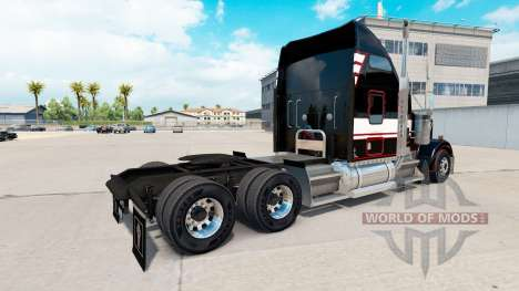 Скин STL Linehaul на тягач Kenworth W900 для American Truck Simulator