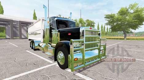Peterbilt 389 grain truck v2.0 для Farming Simulator 2017
