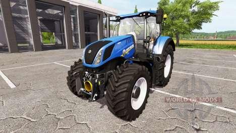 New Holland T7.315 heavy duty для Farming Simulator 2017