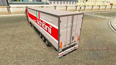 Полуприцеп-рефрижератор Schoni Logistics для Euro Truck Simulator 2