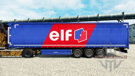 Скин Elf на полуприцепы для Euro Truck Simulator 2