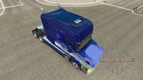 Скин на тягач Scania T для Euro Truck Simulator 2