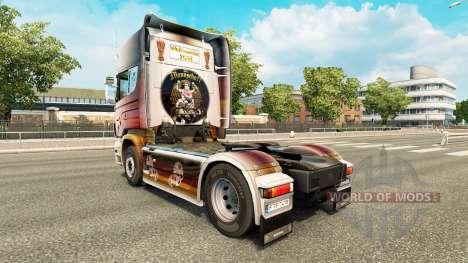 Скин World Cup 2014 на тягач Scania для Euro Truck Simulator 2