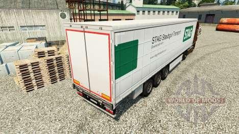 Скин Stag Staubgut Transport на полуприцепы для Euro Truck Simulator 2