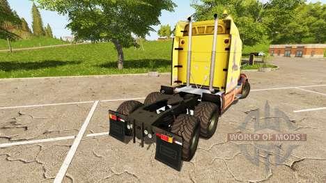 Peterbilt 579 для Farming Simulator 2017
