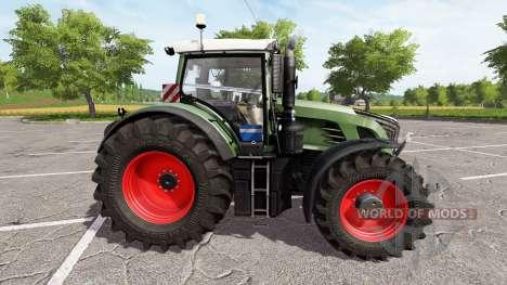 Fendt 936 Vario для Farming Simulator 2017
