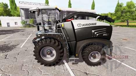 Krone BiG X 580 limited edition v1.1 для Farming Simulator 2017