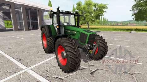 Fendt Favorit 816 Turboshift v3.0 для Farming Simulator 2017