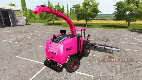 Krone BiG X 1100 pink для Farming Simulator 2017