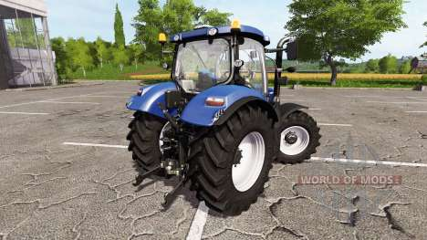 New Holland T6.160 blue power для Farming Simulator 2017