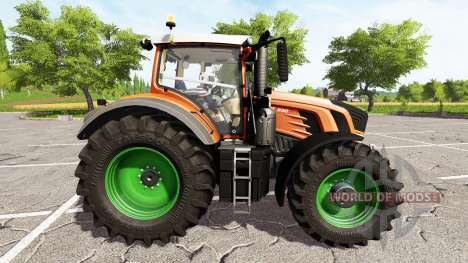 Fendt 930 Vario rims and body color choise для Farming Simulator 2017