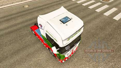 Скин ETS2Studio на тягач Scania для Euro Truck Simulator 2