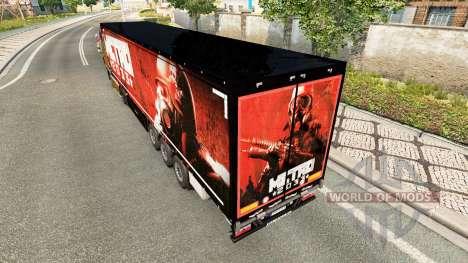 Скин Метро 2033 на полуприцепы для Euro Truck Simulator 2