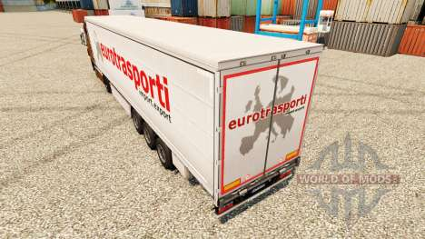 Скин Euro Trasporti на полуприцепы для Euro Truck Simulator 2
