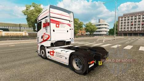 Скин Dukes Transport на тягач Scania R700 для Euro Truck Simulator 2