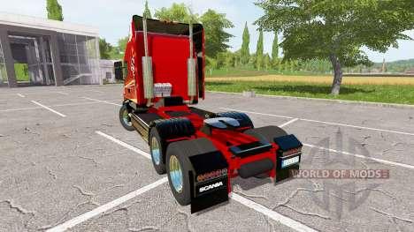 Scania T164 three-axle для Farming Simulator 2017