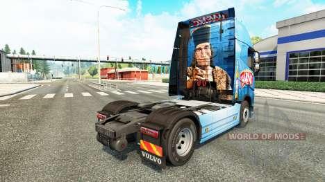Скин Harnas на тягач Volvo для Euro Truck Simulator 2