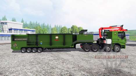 Iveco Stralis [wood chippers] v1.2 для Farming Simulator 2015