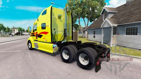 Скин Decker на тягач Peterbilt 387 для American Truck Simulator
