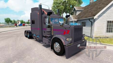 Скин Koliha Trucking на тягач Peterbilt 389 для American Truck Simulator