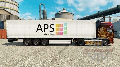 Скин APS на полуприцепы для Euro Truck Simulator 2