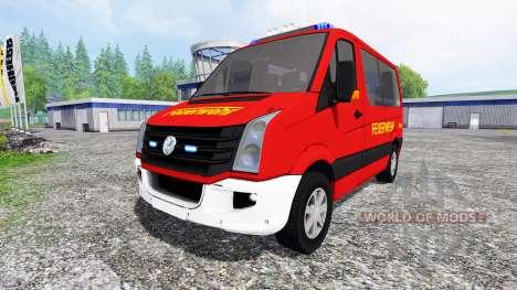 Volkswagen Crafter Feuerwehr для Farming Simulator 2015