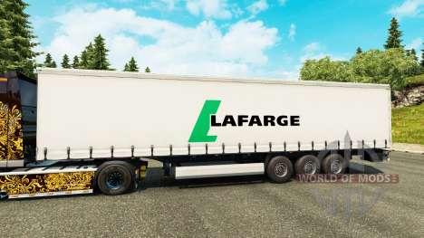 Скин Lafarge на полуприцепы для Euro Truck Simulator 2