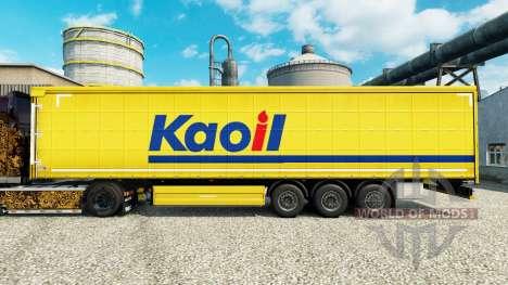 Скин Kaoil на полуприцепы для Euro Truck Simulator 2