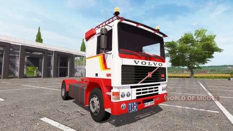 Volvo F12 для Farming Simulator 2017