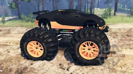 Bugatti Veyron SS [monster truck] для Spin Tires