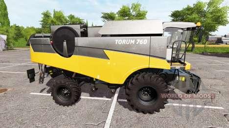 Ростсельмаш Торум 760 оранжевый для Farming Simulator 2017