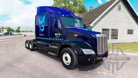 Скин Mystic на тягач Peterbilt 579 для American Truck Simulator