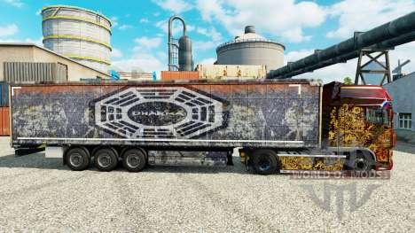 Скин DARPA на полуприцепы для Euro Truck Simulator 2