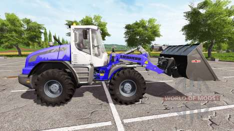 Liebherr L538 AWS для Farming Simulator 2017