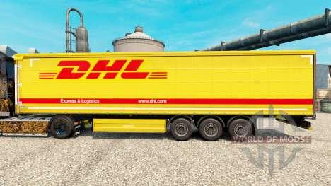 Скин DHL v3 на полуприцепы для Euro Truck Simulator 2