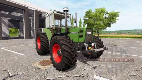 Fendt Favorit 615 LSA Turbomatik E для Farming Simulator 2017