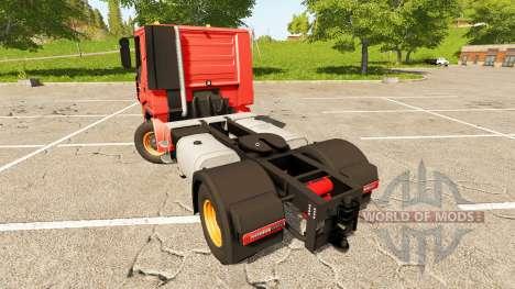 Iveco Stralis 470 LowCab v1.2.3 для Farming Simulator 2017