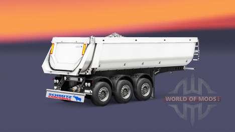 Полуприцеп-самосвал Schmitz Cargobull для Euro Truck Simulator 2
