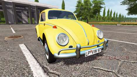 Volkswagen Beetle 1966 для Farming Simulator 2017